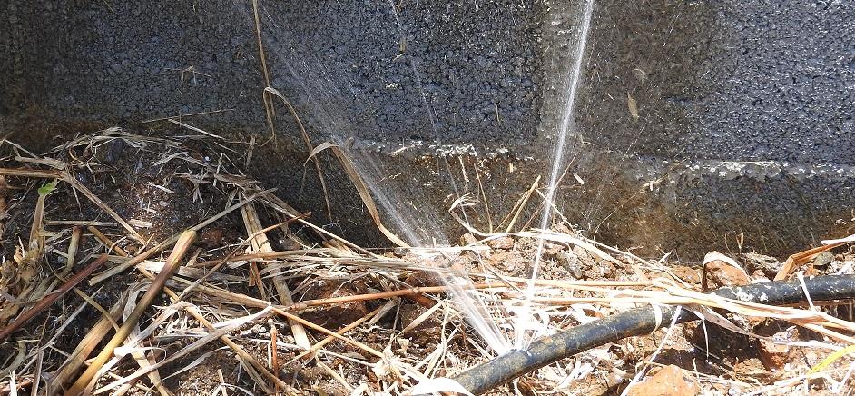 Highlands un tuyau endommag entra ne une fuite d eau - Fuite d eau tuyau cuivre ...
