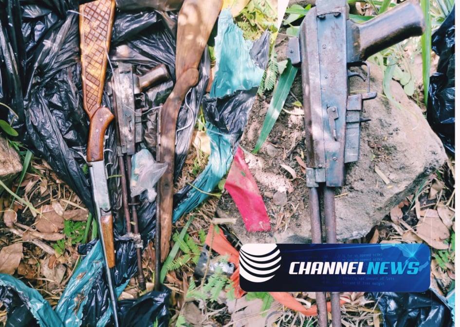 Beaux-Songes : Des armes à feu et des munitions retrouvées près d'une rivière - ChannelNews